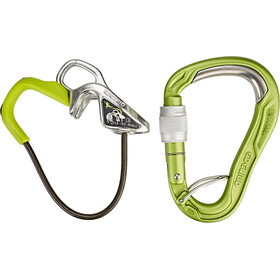 Edelrid Mega Jul Rebbremse-kit with Bulletproof Screw, oasis